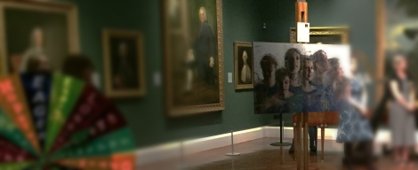 Holburne Museum with an Art Post